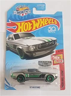 Hot Wheels 2018 Walmart Exclusive Then And Now 4/10 - '67 Mustang (Zamac Edition)