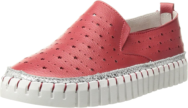 Bernie Mev Girl's TWK40 Sneaker, red, 28-35 M M EU Big Kid (31 US)