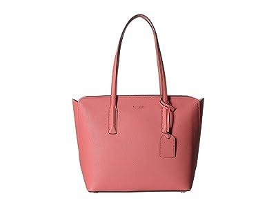 Kate Spade New York Margaux Medium Tote (Peachy) Handbags
