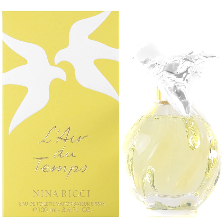 L'air du Temps by Nina Ricci for Women - 3.3 oz EDT Spray (Refillable)