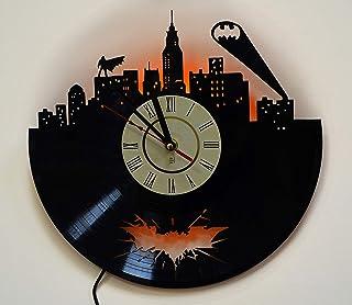 Batman Arkham Handmade Knight DC Comics Wall Hanging Lamp, Night Light Function, Perfect Gift