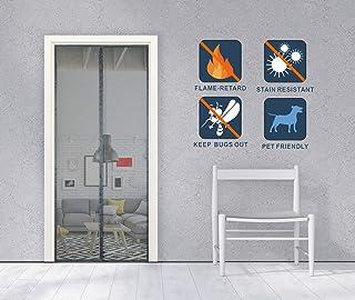 ZFHTAO Magnet Fliegengitter T/ür Wohnzimmer Magnet Vorhang f/ür Kinderleichte Klebemontage Ga A 70x200cm