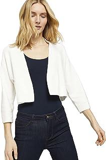 TOM TAILOR womens 1025760 Short Cardigan Cardigan Sweater