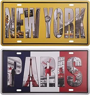 Best paris france license plate Reviews