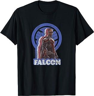 Marvel The Falcon And The Winter Soldier Falcon Retro T-Shirt
