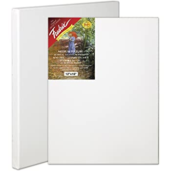 Fredrix 5030 Red Label Stretched Canvas, 24 By 30 Inches