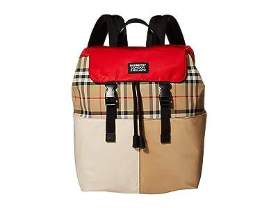 Burberry Kids Hayden (Archive Beige) Backpack Bags