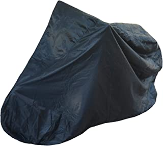 Bicycle Cover for Outdoor and Indoor Storage - Perfect for Apartment Balconies - Comes with Carrying Case - Black