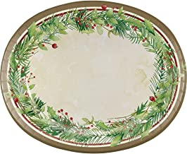 Best christmas oval paper plates Reviews