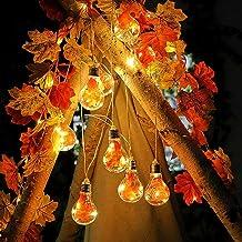 Ububiko Maple Leaf Fairy Lights, 4M 10 Leds Herfst Garland, Valbladeren Garland, Bladeren Garland Decoratie Lichten Voor H...