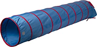 """Pacific Play Tents 20513 Kids 9-Foot Institutional Crawl Play Tunnel, 9' X 22"""" Diameter, Blue/Red"""