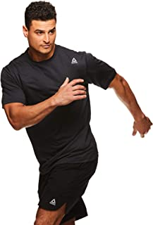 Men's Supersonic Crewneck Workout T-Shirt Designed with Performance Material