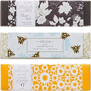 Lollia Petite Size Shea Butter Handcreme 3 Piece Gift Set - In Love, Wish and At Last