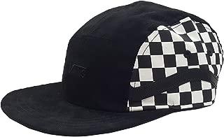 Mens Sidestripe 5-P Hat Black/White One-Size VN0A3MYU705