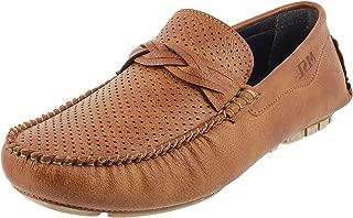 Walkway Men's Tan Loafers (17-9092)