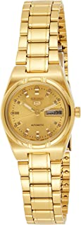 Seiko Women's Series 5 Automatic Watch, SYM600, gold, SYM600K1