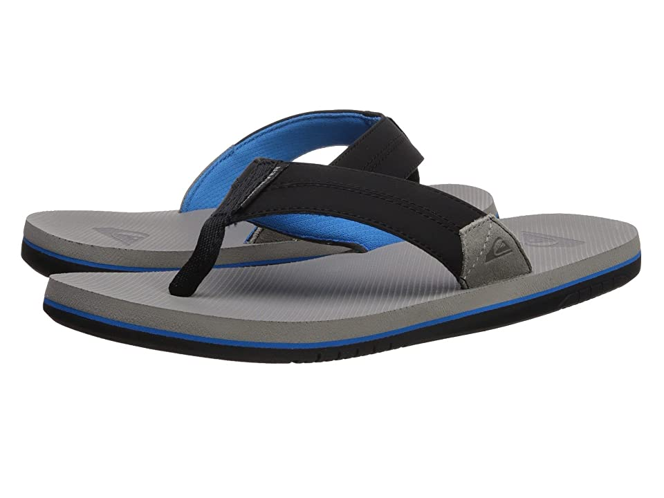 Quiksilver Coastal Oasis II (Grey/Blue/Black) Men's Sandals, Multi