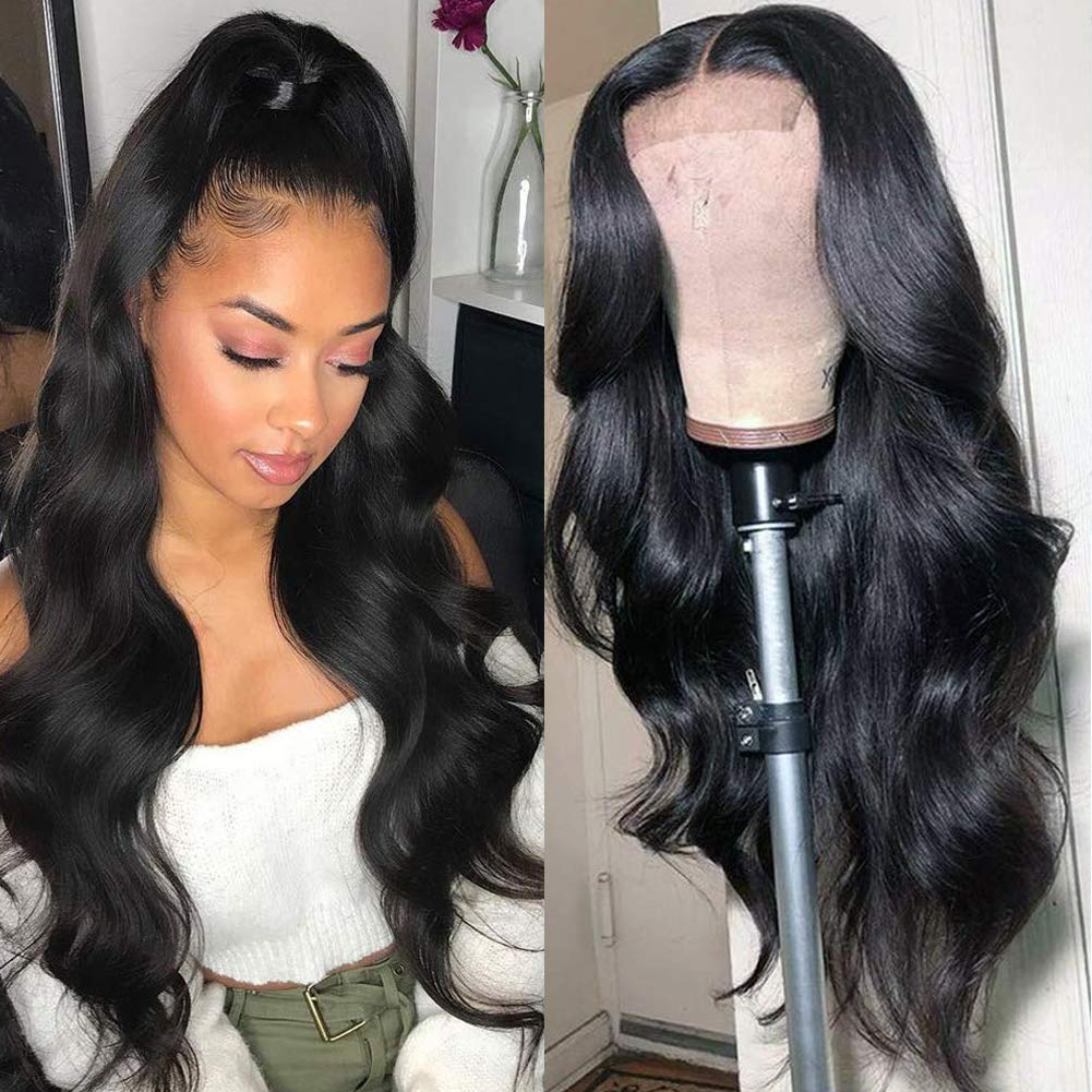 New products, world's highest quality popular! Lace Front Wigs Translated Human Hair for Plucked Black Women Hairline Pre
