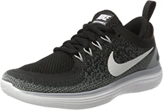 Nike Women's WMNS Free Rn Distance 2 Competition Running Shoes, Black (Black/Cool Grey/Dark Grey/White), 3 UK 36 EU