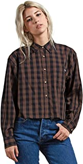 Women's Dare 2 Bloom Long Sleeve Button Down Flannel Shirt