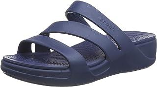 Crocs Women's Monterey Wedge Open Toe Sandals