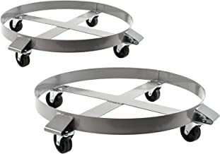 Best 55 gallon water barrel dolly Reviews