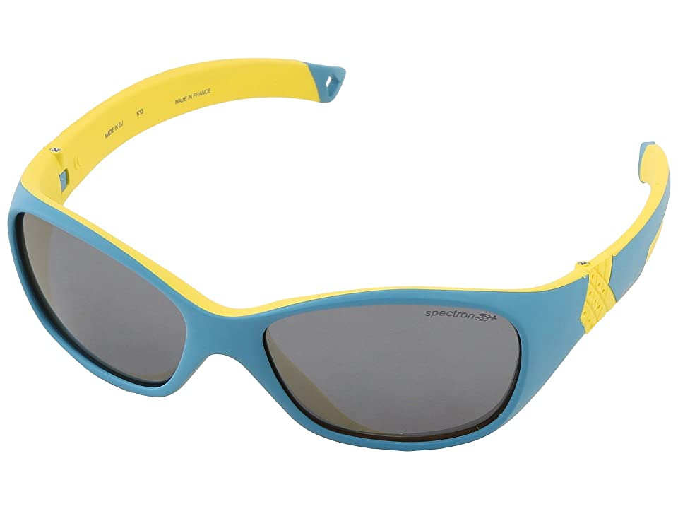 Julbo Eyewear Juniors - Julbo Eyewear Juniors Solan Kids Sunglasses, Blue/Yellow w/ Spectron 3+ Lenses