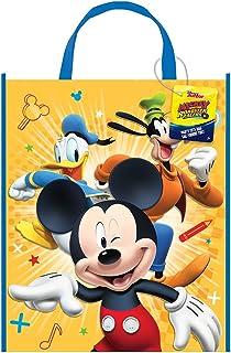 Groß, aus Kunststoff Mickey Maus Party Tasche, 33 cm x 28 cm