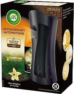 AIR WICK Lot de 4 Kits Désodorisant Freshmatic + Une Recharge Bois & Vanille