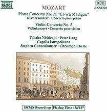 Mozart: Piano Concerto No. 21 / Violin Concerto No. 5