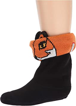 Cheeky Fox Cuff Boot Sock (Toddler/Little Kid/Big Kid)