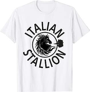 Italian Stallion Funny Graphic T-Shirt