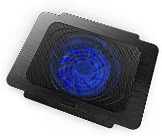 Laptop Kylkudde, Dubbelvinkeljustering, Dubbelklippning, Dubbel USB-gränssnitt, Laptop Cooler Slim PortableWith 1 Big Quie...