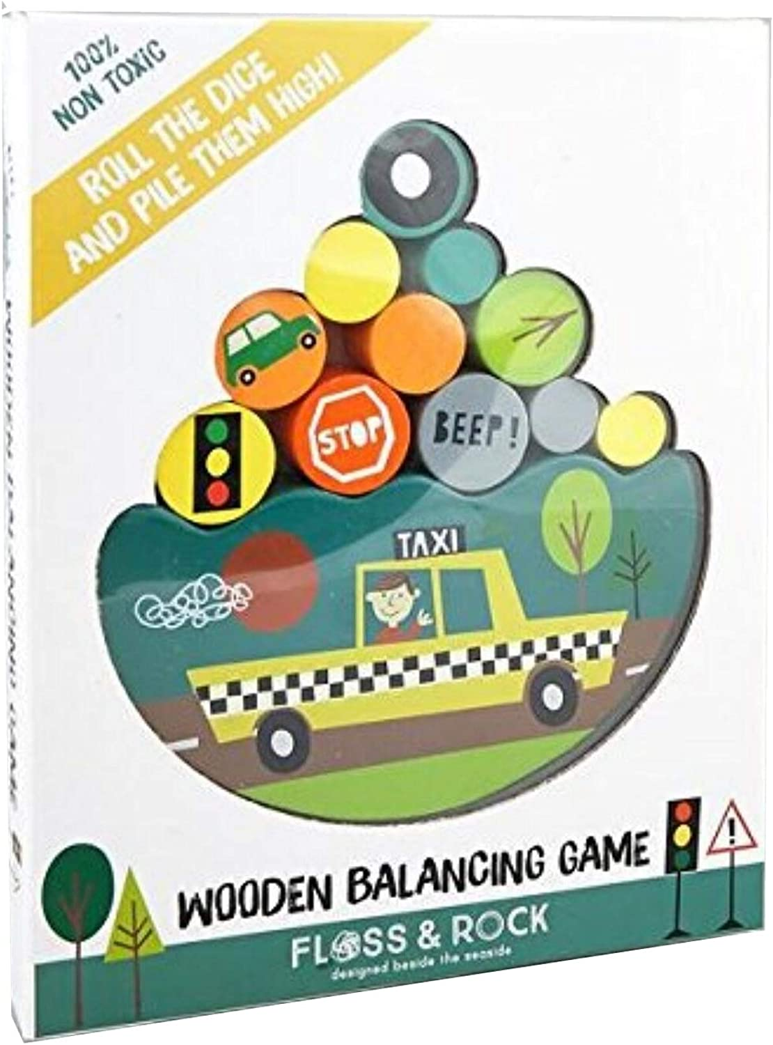 Floss Rock Wooden Balancing New life - Transport Price reduction Game