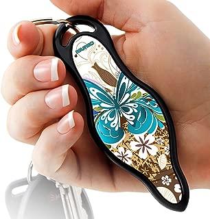 MUNIO Designer Self Defense Kubotan Keychain with Ebook (Brownie)