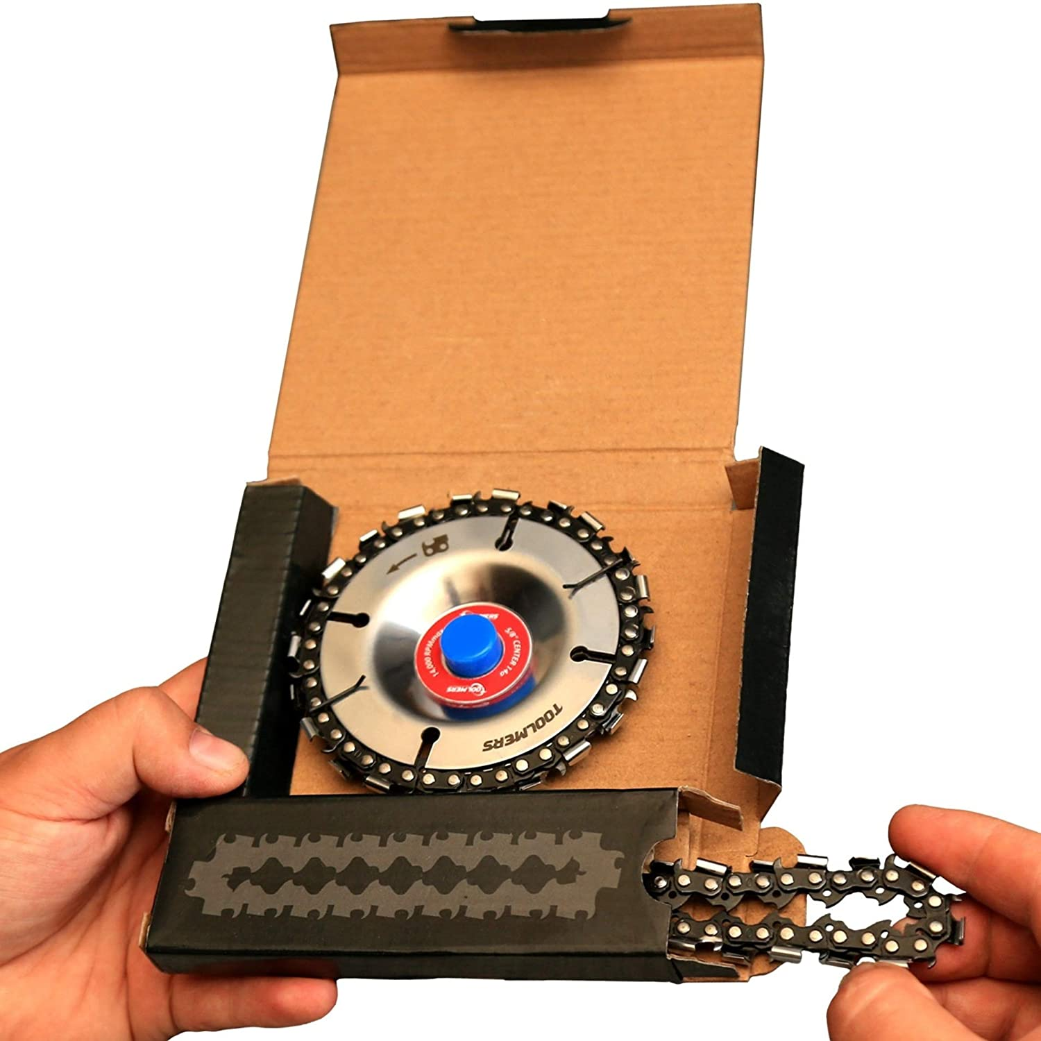 """Fits 4"""" or 4-1/2"""" Angle Grinders 4 Wood Milling and Carving Rotary ..."""