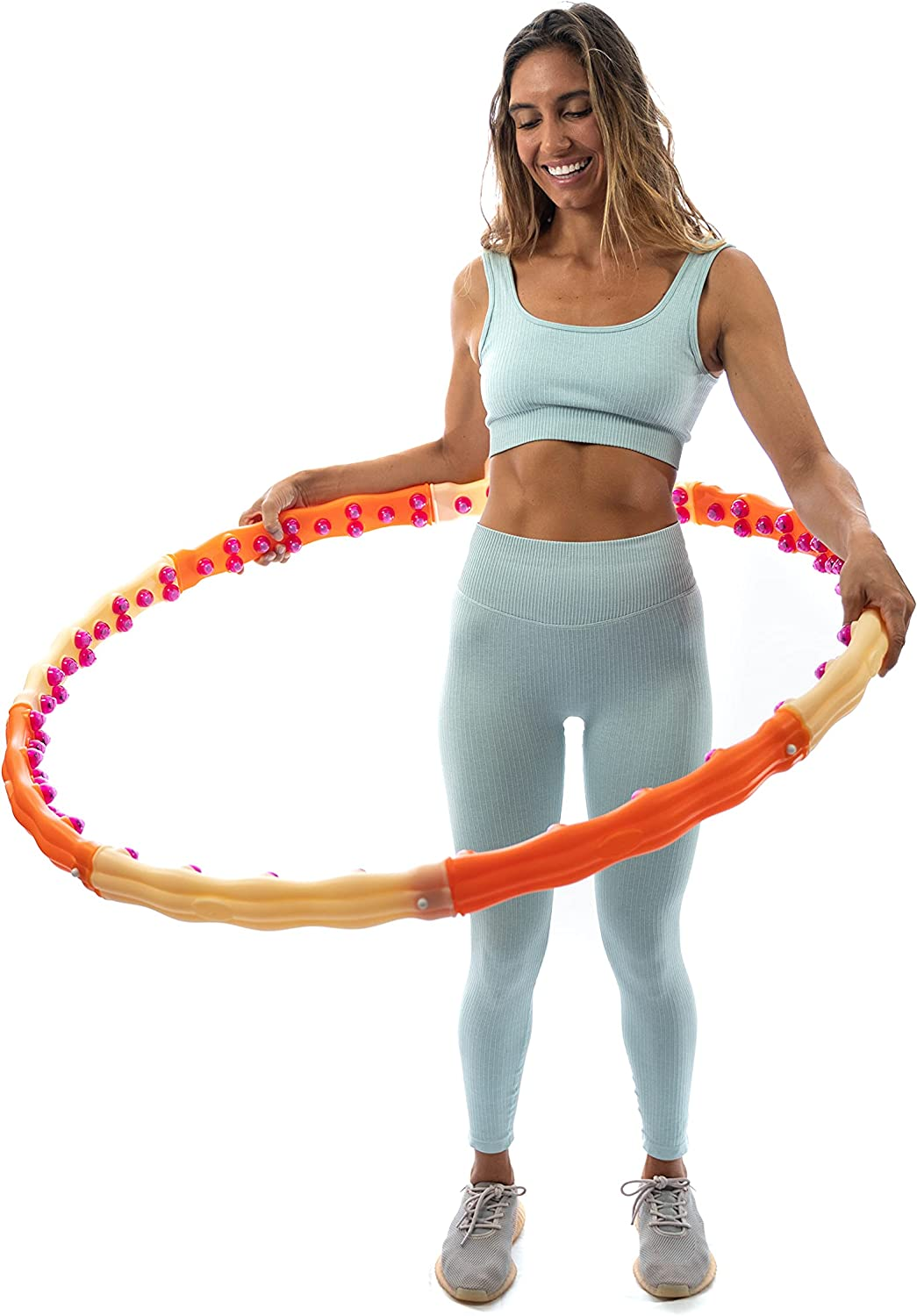 HealthHoop - Weighted Hoop for Cardio Gifts Boost Full Popularity Exercise Body