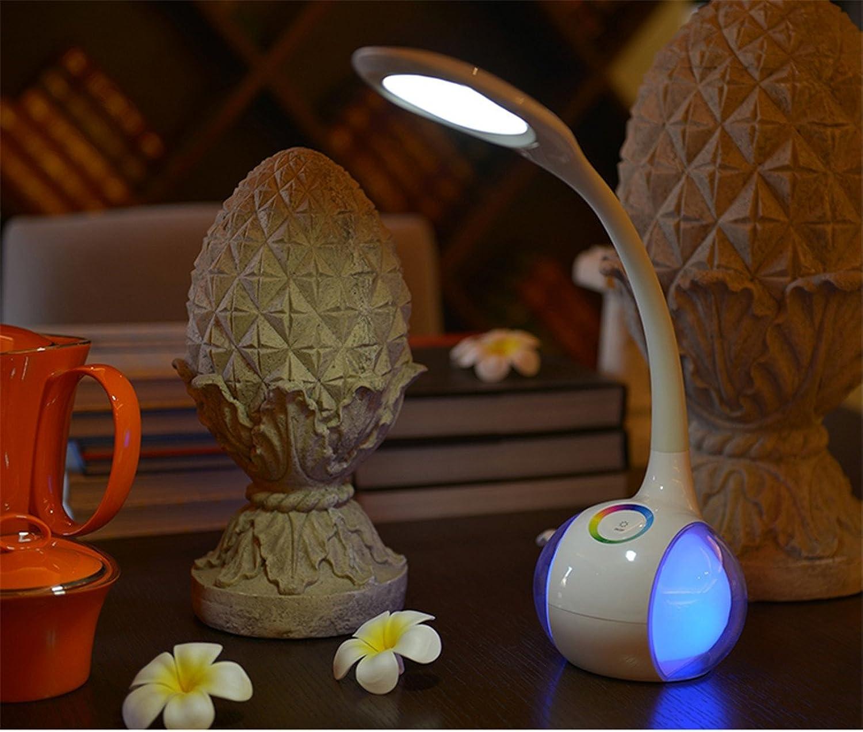 QIANGQI weie LED einfache moderne kreative Mode-Fantasie-warme reizende romantische frbbare Persnlichkeits-Tabellen-Lampen-Schlafzimmer-Nachttisch-Kinderzimmer 130  525mm.