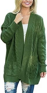 Dearlove Women's Oversized Long Sleeve Open Front Knit Cardigan Sweater Pocket S-XXL