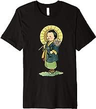 Vintage Oriental Child in National Costume Premium T-Shirt