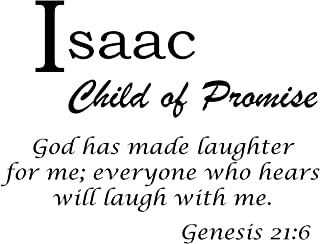 Baby Names Wall Decals for Isaac. Displays The Meaning of Names - Learn The Isaac Name Meanings of Baby Girl Names or Boys. Get This What Does My Name Mean Decal in - Black