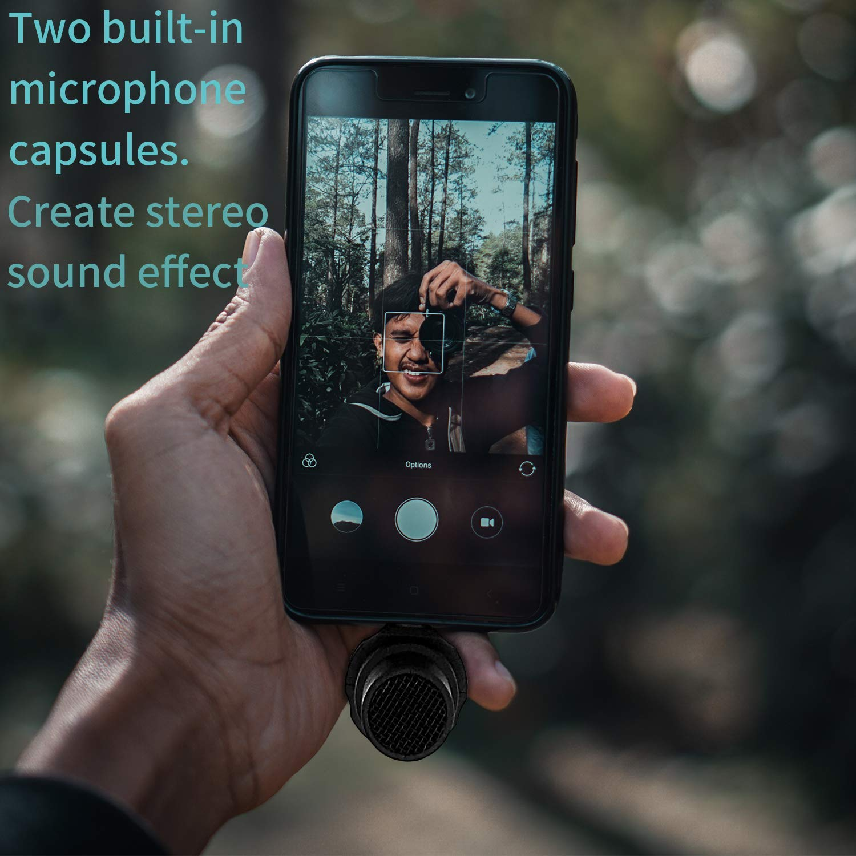 Boya USB-C Plug & Play micrófono para Smartphones Android, micrófono de Escopeta para Smartphones Tipo C, Tableta, Huawei Mate 10, Samsung Galaxy Note 9 8 Plus, Xiaomi LG Youtube Video: Amazon.es: Electrónica