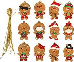 DYNWAVE 12 Pcs Divertimento Bonito árvore de Natal Pendurado Ornamento Handbag de Natal Casa