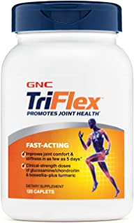 GNC TriFlex FastActing Supplement,120 Caplets, Joint Support