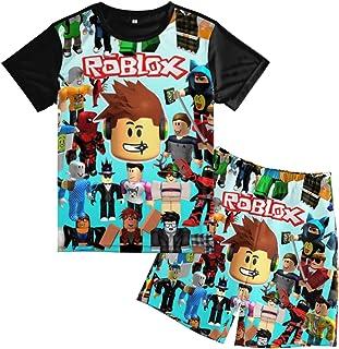 Msdosbt Teens T-Shirts Summer Tops Tee Shirts and Short for Boys Girls