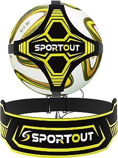Sportout Hands Free Solo Soccer Trainer, Kick Trainer,...