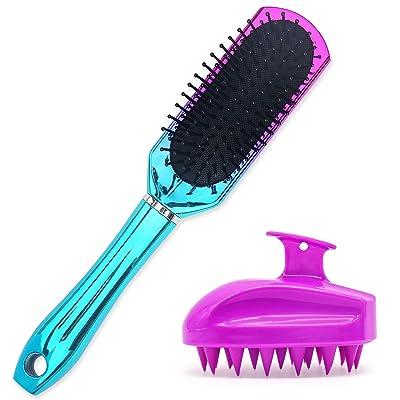 Oleh-Oleh Detangle Hair Brush Pro for Wet and D...