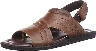 BATA Men's Colley Leather Sandals