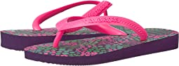 Havaianas Kids - Flores Sandals (Toddler/Little Kid/Big Kid)