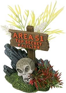 Blue Ribbon Exotic Environments Area 51 Sign